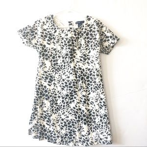 Gap animal print dress